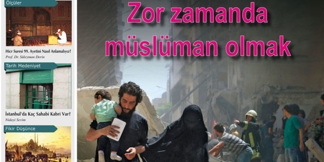 Zor Zamanda Müslüman Olmak
