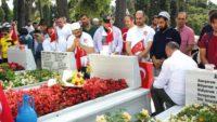 Özkevser Vakfı 15 Temmuz Şehitlerini Unutmadı